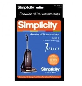 Simplicity Simplicity HEPA 7 Series Bags 6/pkg