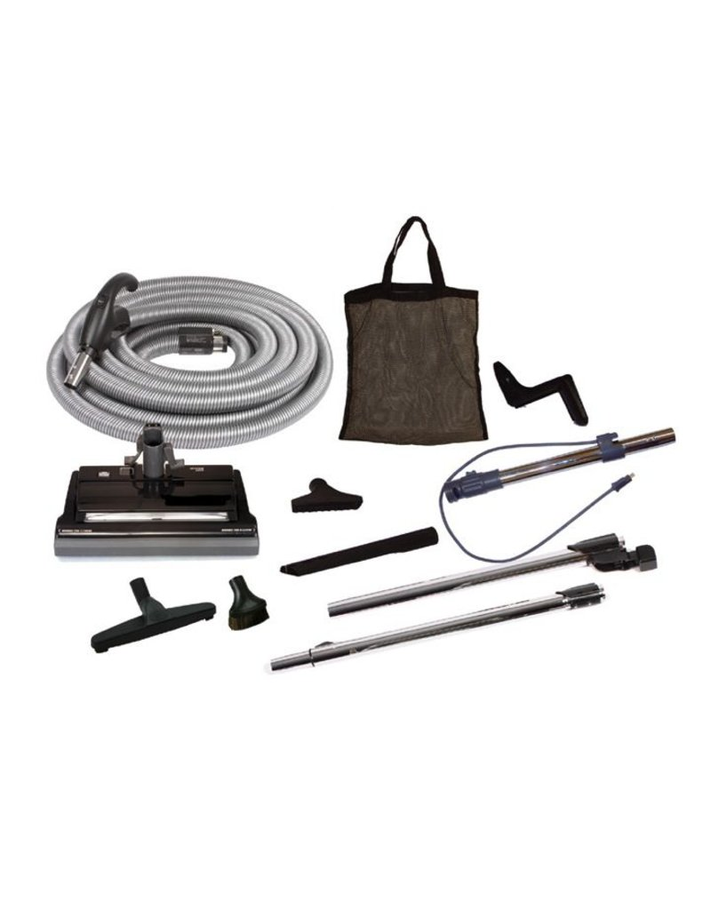 VacuMaid Deluxe Central Vacuum Electric Cleaning Set