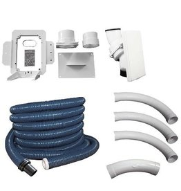 Hide A Hose Hide A Hose 60' Complete Installation Kit with Hose and White Cover