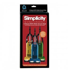 Simplicity Simplicity Synchrony HEPA Bag with SureLock Closure 6/pkg
