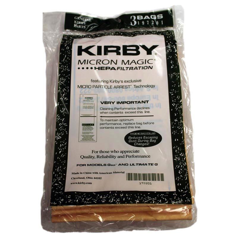 Kirby Kirby G6 Hepa Bag 3/pkg