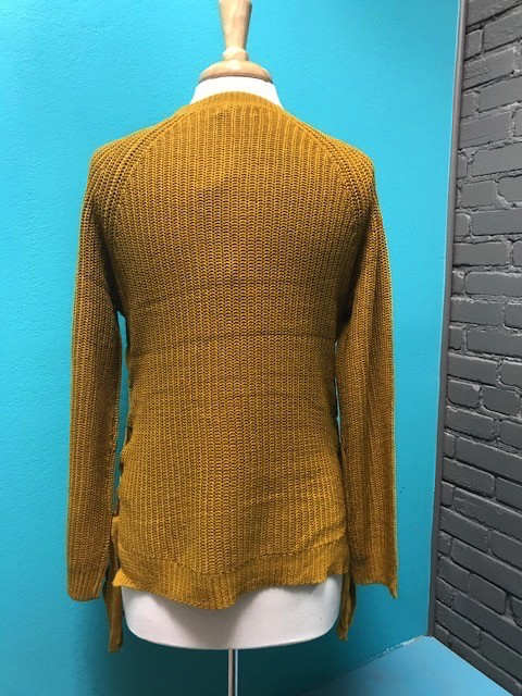 Sweater Sweater w/ Lace Up Sides