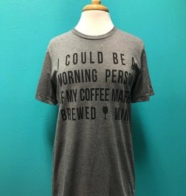 Top Coffee Maker Brewed Wine Tee