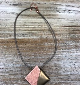 Jewelry Rose Gold/Bronze Pendant Necklace