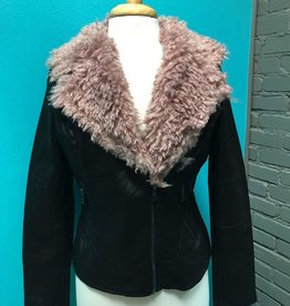 Jacket black/rose Lost Faux Words Jacket