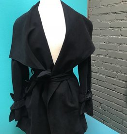 Jacket Black Joey Draped Jacket