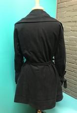 Jacket Black Joey Draped Jacket