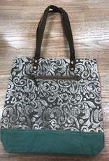 Bag Abstract Print Canvas Tote Bag