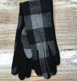 Gloves Plaid Gloves