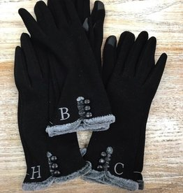 Gloves Touch-Screen Compatible Initial Gloves