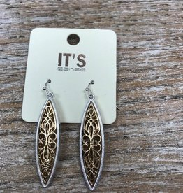 Jewelry Gold Silver Dangle Earrings