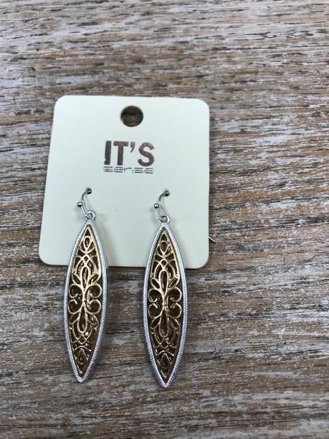 Jewelry Gold Silver Dangle Earrings