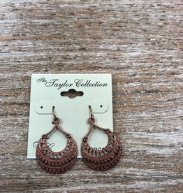 Jewelry Rose Gold Design Earrings
