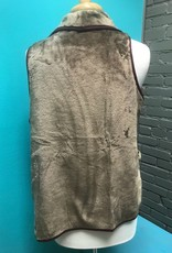 Vest Double Side Faux Fur Vest