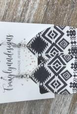Jewelry Handmade Leather Earrings