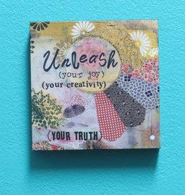 Decor Unleash Your Joy Wall Art