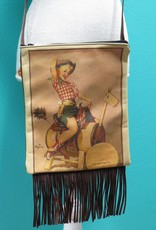 Bag IPad Bag w/ Fringe- Sitting Pretty