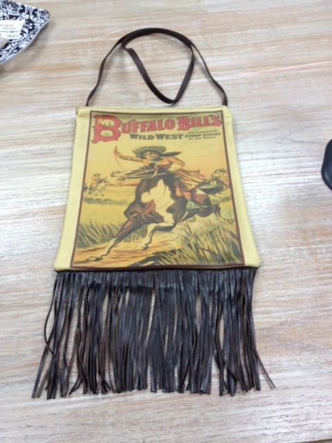 Bag Ipad Bag w/Fringe-Buffalo Bill's