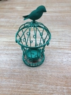Decor Bird Cage Tea Light Holder