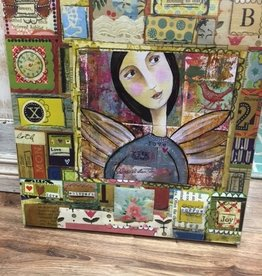 Art Love Whispers Patchwork Wall Art