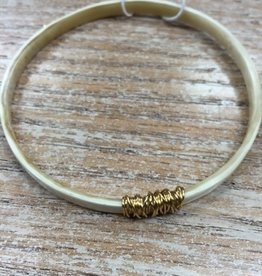 Jewelry Golden Horn Bangle 2