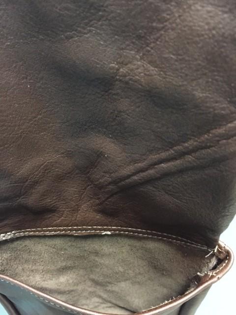Bag Flap Bag w/ Fringe- Girl w/ Rope