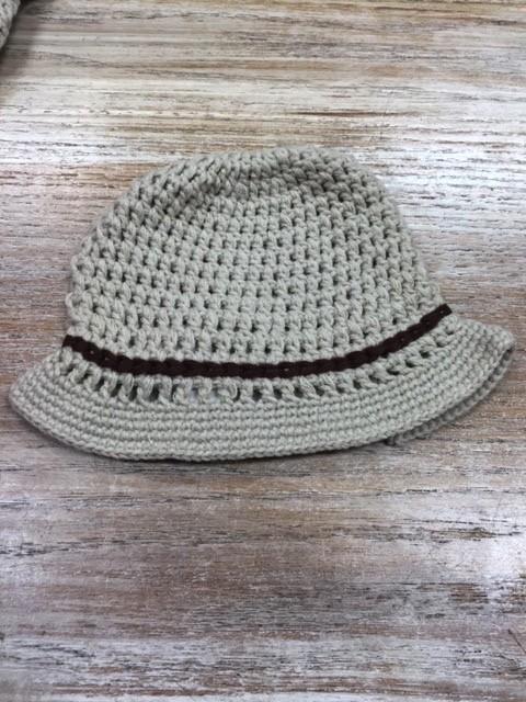 Kids Baby Crochet Cowboy Hat Glitz Spurs