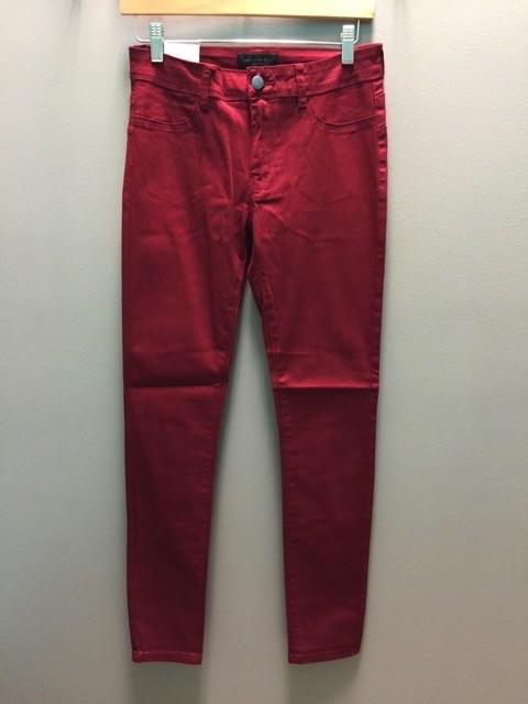Jean Burgandy Skinny Jeans