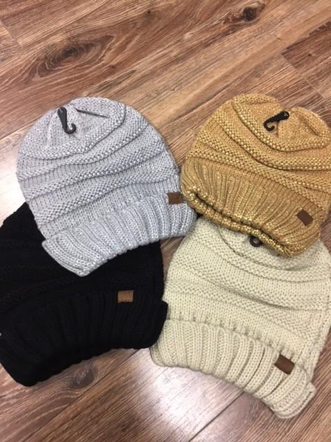 Beanie Knit Slouchy Winter Beanie