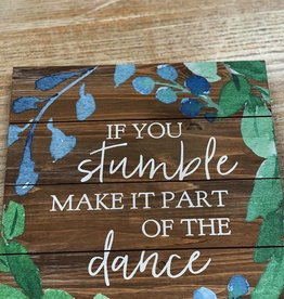 Decor The Dance Pallet Sign