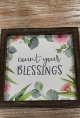 Decor Count Your Blessings SIgn