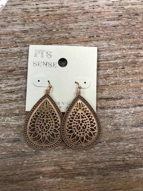 Jewelry Gold Design Silver Ball Earrings
