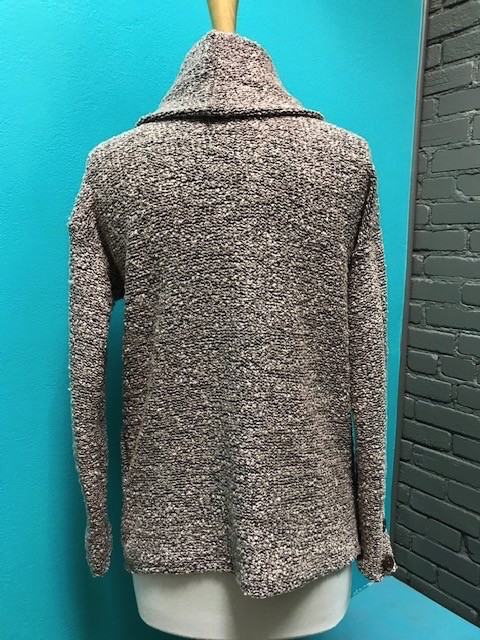 Sweater Blush Knit Turtleneck Sweater
