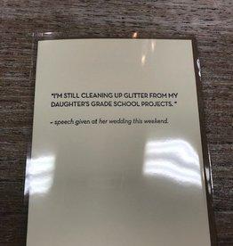 Card Glitter Card
