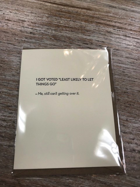 Card Voted Least Likely Card
