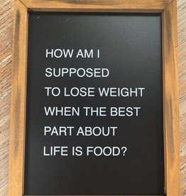 Best Part Of Life Box Sign 7x9
