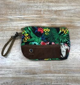 Bag Flower Tapesty Pouch Purse