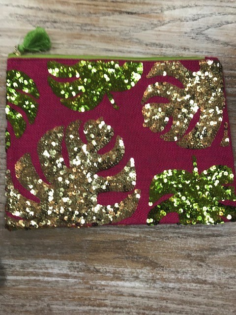Bag Paradise Jute Sequin Bag