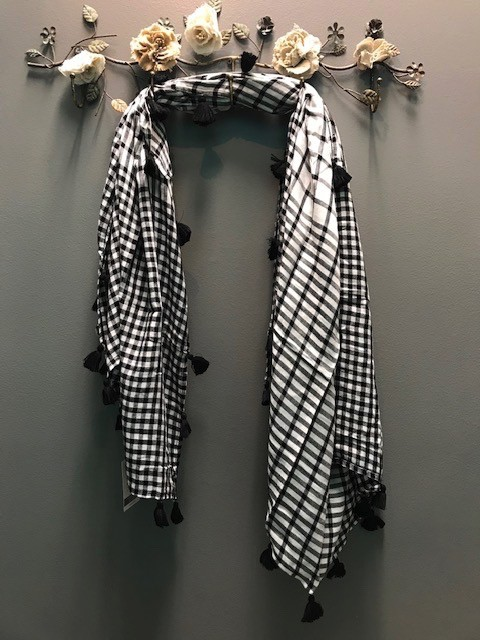 Scarf Gingham Square Scarf