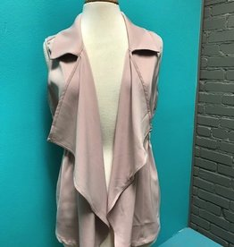 Vest Raven Cinched Blush Vest