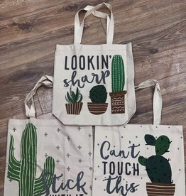 Bag Cactus Tote Bag