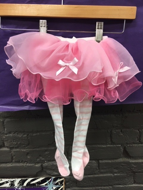 Kid's Pink Baby Tutu Tights