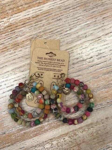 Jewelry Gypsy Fabric Earrings