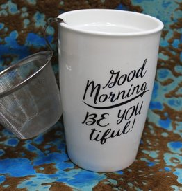 Kitchen Good Morning Tea Infuser Mug