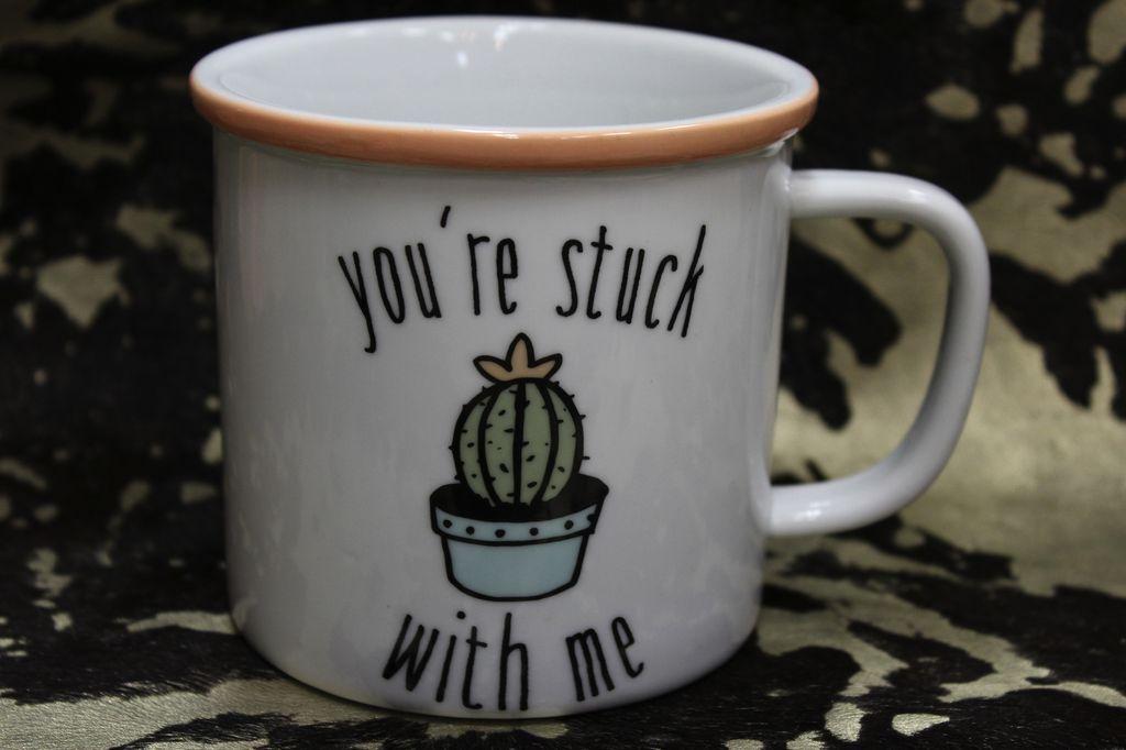 Mug Stuck With Me Mug
