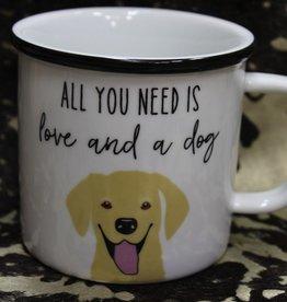 Mug Love & Dog Mug