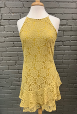 Dress Lace Cami Mini Dress