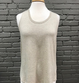 Tank Oatmeal Solid Tank Top