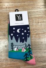 Socks Women's Crew Socks, Glamping