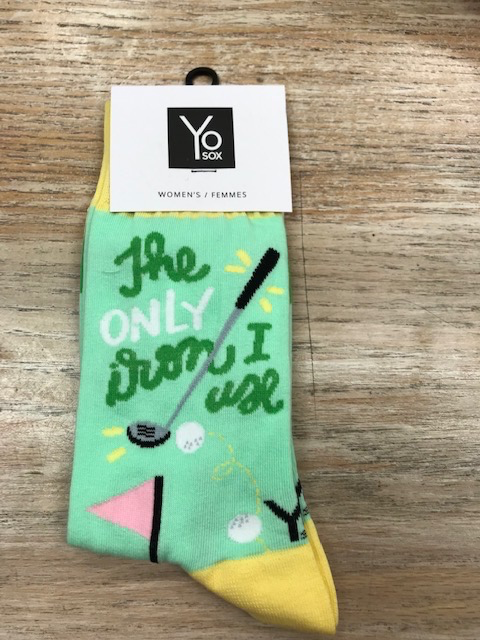 Socks Women's Crew Socks, GolfLife